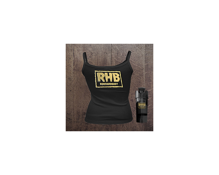 Womens RHB Signature tank and cup
