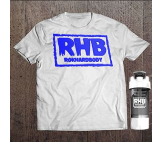 RHB Tee and signature series shaker cup