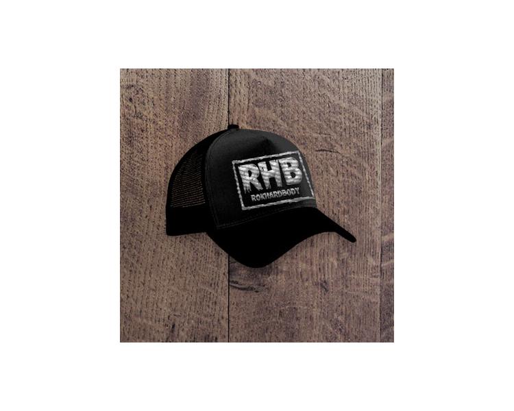 Black RHB trucker Hat